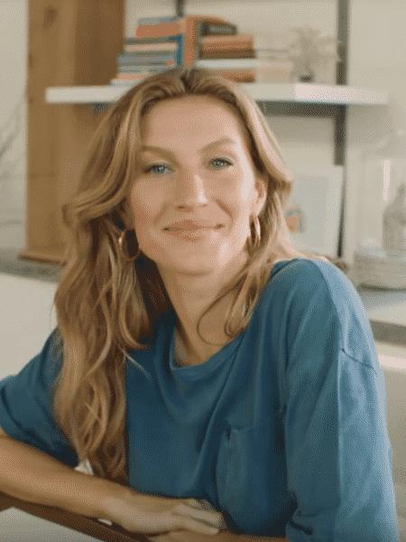 Gisele Bündchen - Reprodução/Youtube