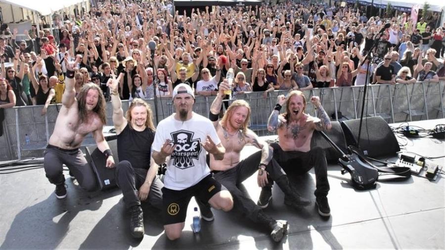 A banda filandesa Stam1na, formada em Lemi - Reprodução/Facebook