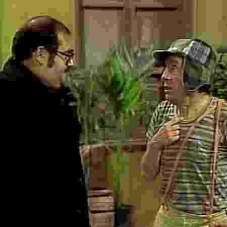 """Sr. Barriga convida Chaves para ir a Acapulco em episódio icônico de """"Chaves"""" - Reprodução/SBT - Reprodução/SBT"""