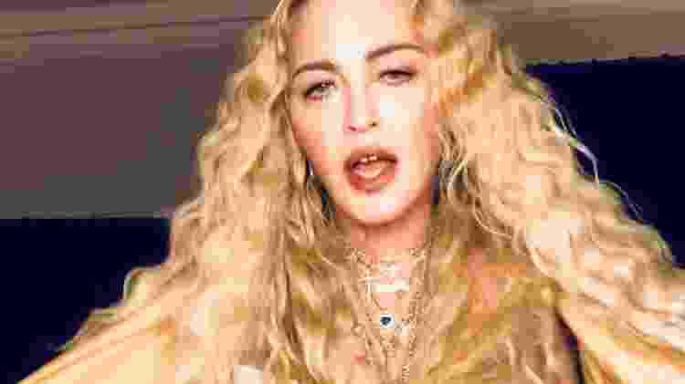 Madonna - Reprodução/Instagram - Reprodução/Instagram