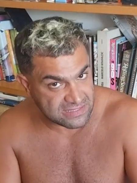 """Evandro Santo, ex-participante de """"A Fazenda 10"""" - Reprodução/Instagram"""
