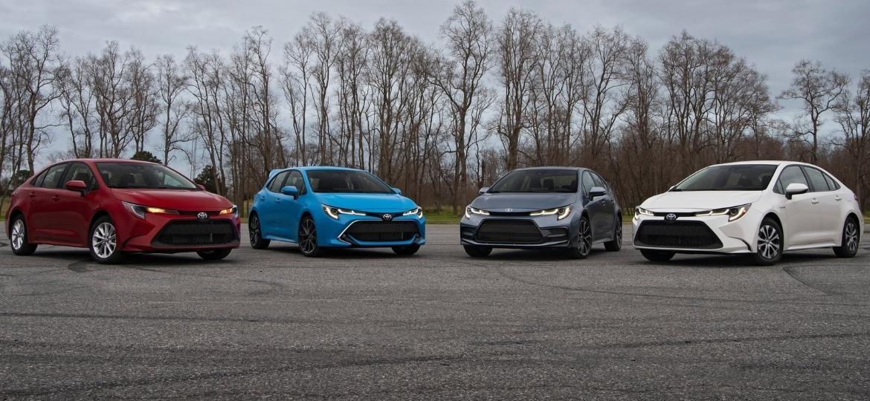 Novo Corolla tem cinco versões no mercado norte-americano - Divulgação