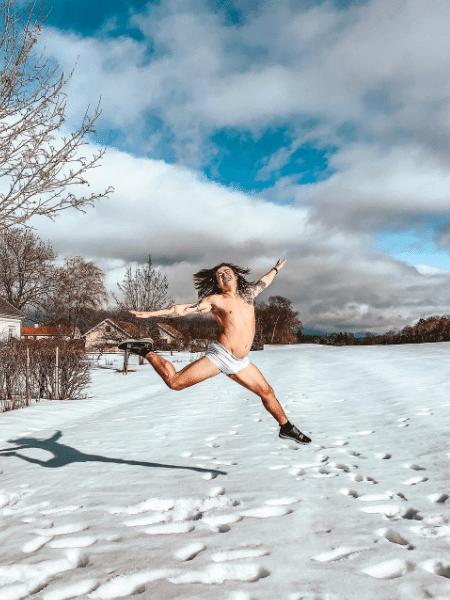 Whindersson Nunes na Noruega - Reprodução/Instagram