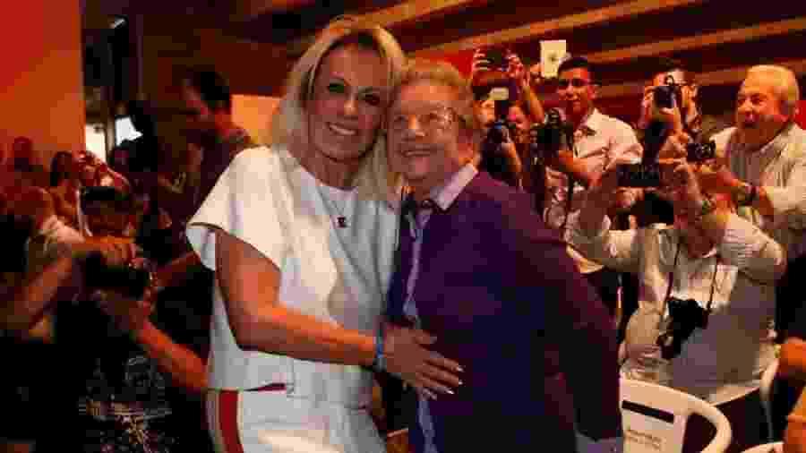 Ana Maria Braga e Palmirinha Onofre participaram de um evento em 2016. Agora irão se reencontrar na TV. - Marcos Ribas/Brazil News