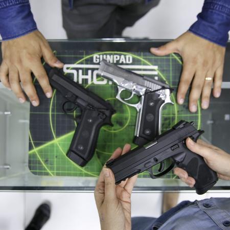 Proposta que conceder autorização à mulher para ter arma de fogo e se defender de agressor - Gabriela Cais Burdmann/UOL