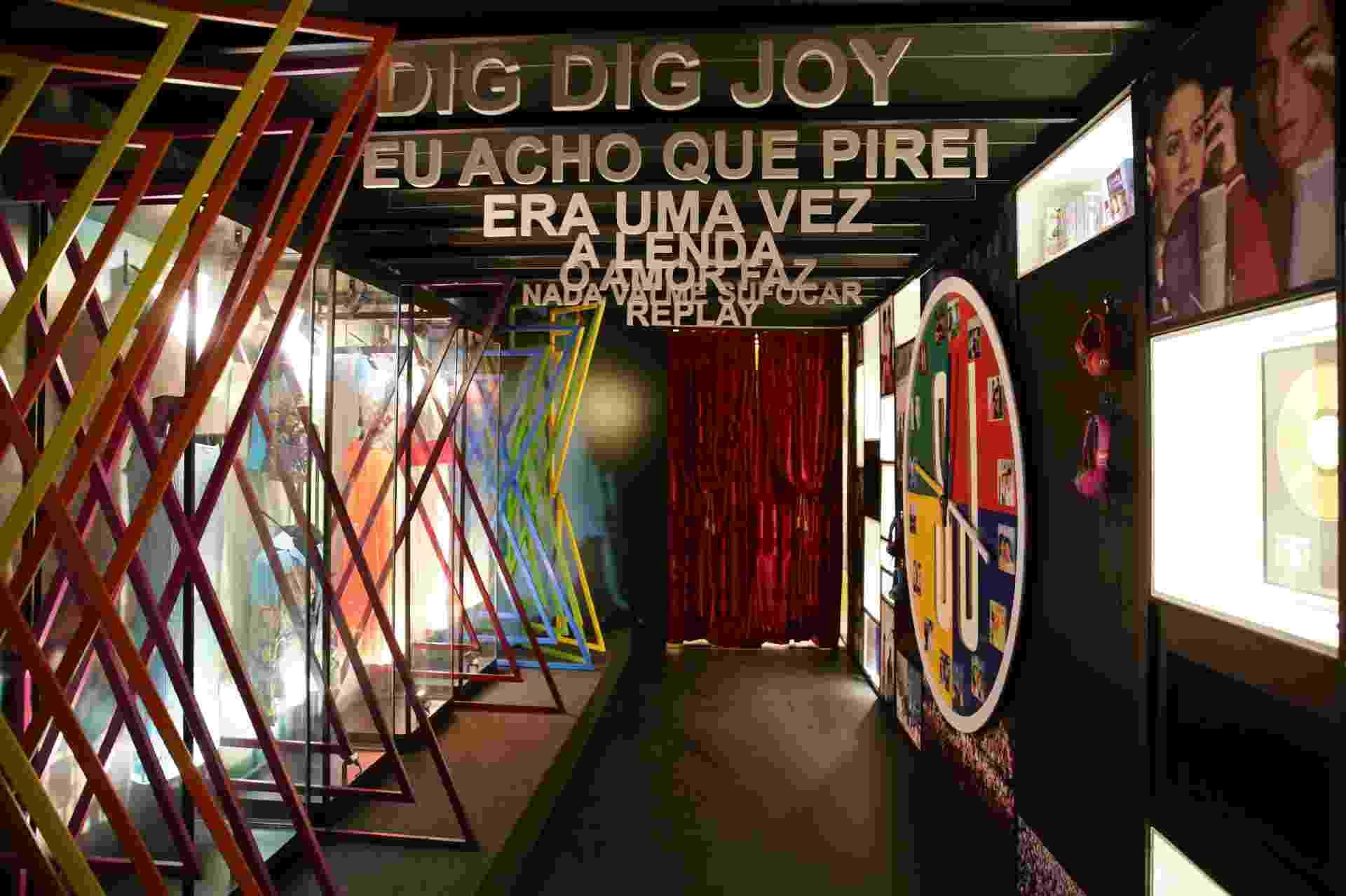Exposição de Sandy e Junior fica no Shopping RioMar, no Recife, até 16 de julho - Paloma Amorim/Divulgação