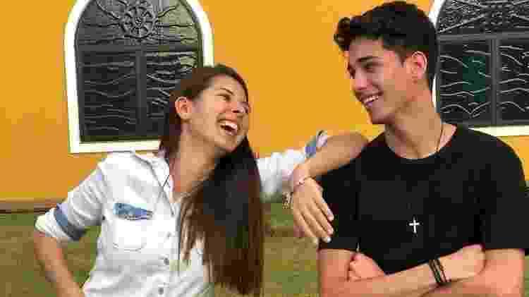 Haila e Helton: os dois se tornaram amigos nas gravações do MasterChef Brasil - Reprodução/Instagram