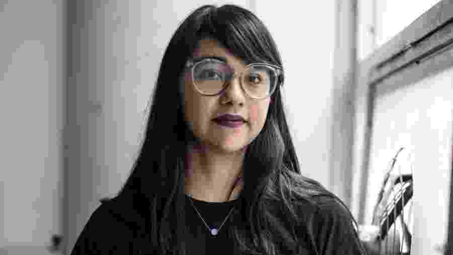 """María Conejo aplicou na """"Pussypedia"""" seu trabalho de anos representando o corpo feminino de uma forma incomum - Arquivo pessoal/BBC"""