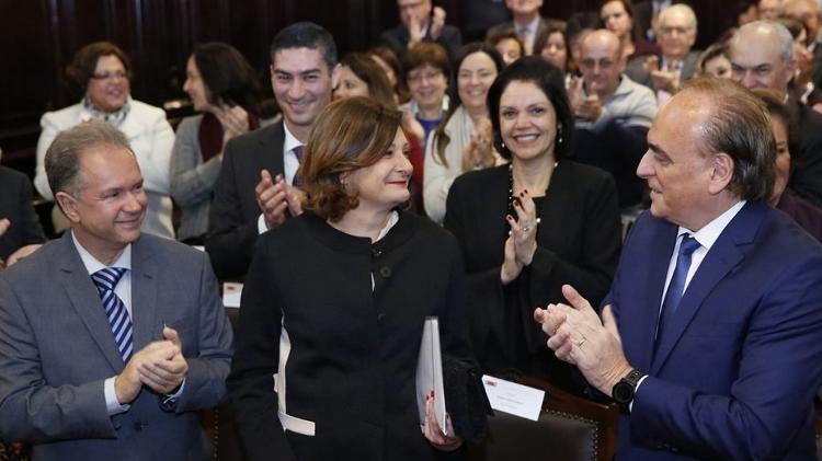 Berenice Maria Giannella (centro) recebe homenagem no Tribunal de Justiça de São Paulo - Divulgação