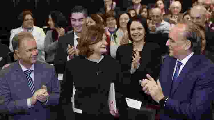 Berenice Maria Giannella (centro) recebe homenagem no Tribunal de Justiça de São Paulo - Divulgação - Divulgação