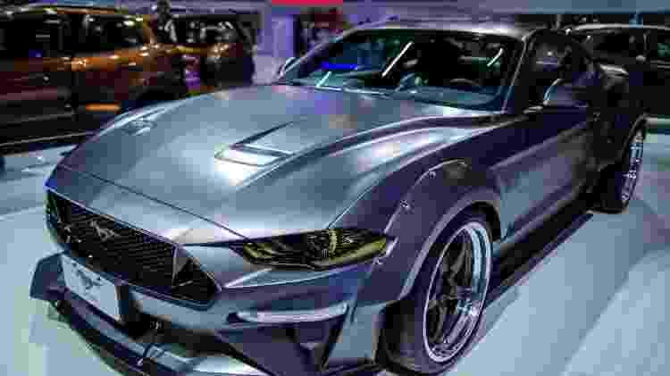 Mustang 1000 BTS pertencia à Ford, mas trocou de mãos após sofrer acidente, ser reparado e ficar como novo - Eduardo Anizelli/ Folhapress