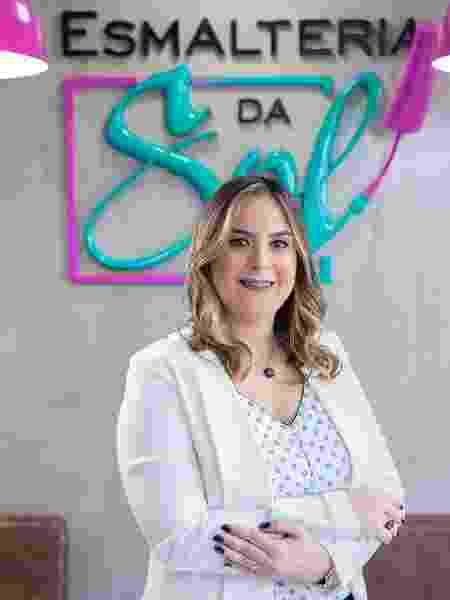 Luzia Solange Regovich, da Esmalteria do Sol - Divulgação