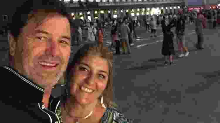 Sandra e Mauro são casados há mais de 20 anos - Acervo pessoal - Acervo pessoal