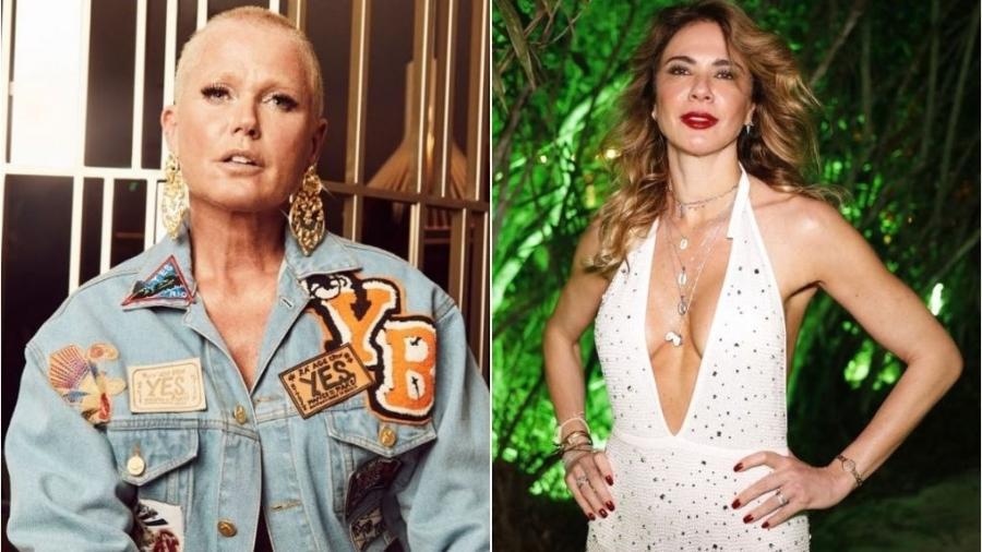 Luciana Gimenez revela que Xuxa ofereceu seu apartamento em Nova York - Montagem de fotos de reprodução/Instagram