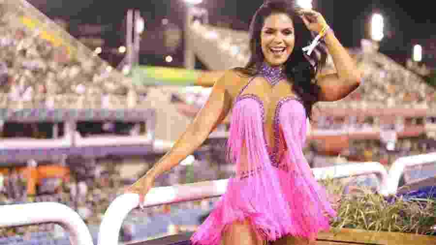 Raissa Machado, rainha da Viradouro, também foi rainha de camarote na Sapucaí - Michelle Issanori/Divulgação