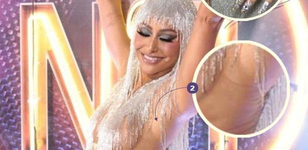 Mistéééério... | Como Sabrina parecia seminua no Carnaval, mas estava vestida?