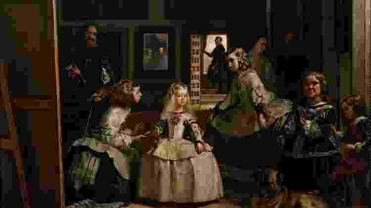 """""""As meninas"""", obra de Diego Velázquez - Divulgação - Divulgação"""