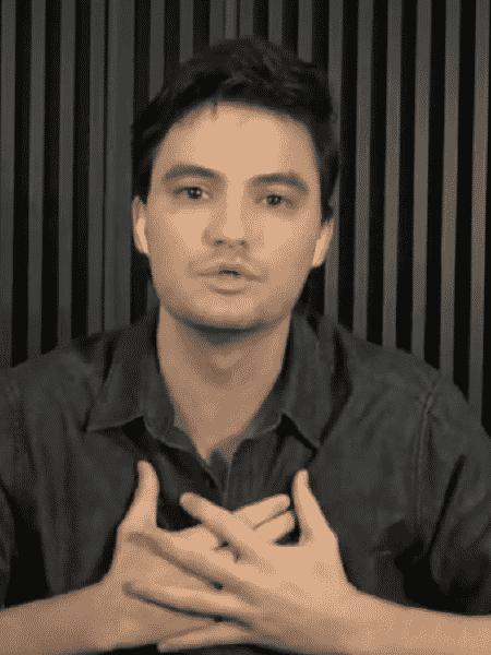 O youtuber Felipe Neto em entrevista ao Roda Viva de 18 de maio de 2020 - Reprodução/TV Cultura