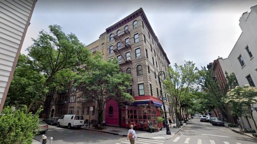"""Fachada de prédio em Nova York usada em """"Friends"""" - Reprodução/Google Street View"""