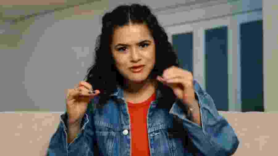 Maisa contou história em vídeo no seu canal do YouTube - Reprodução/YouTube