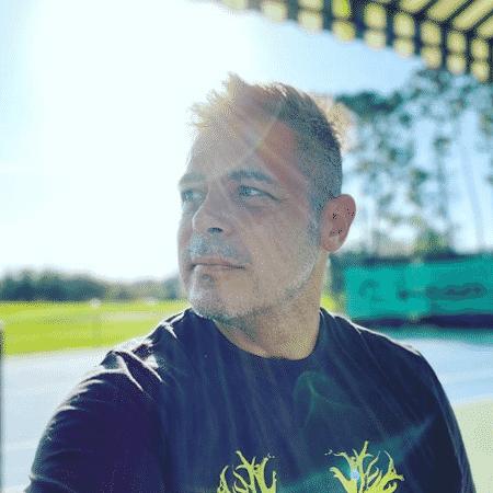 Luigi Baricelli na Flórida, Estados Unidos, onde vive há 5 anos; Ator está afastado das novelas desde 2011 - Reprodução/Instagram/@luigibaricelli