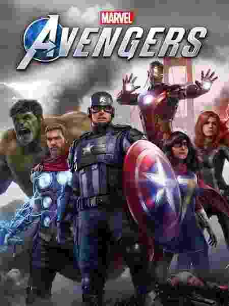 capa game Marvel's Avengers - Divulgação/Square Enix - Divulgação/Square Enix