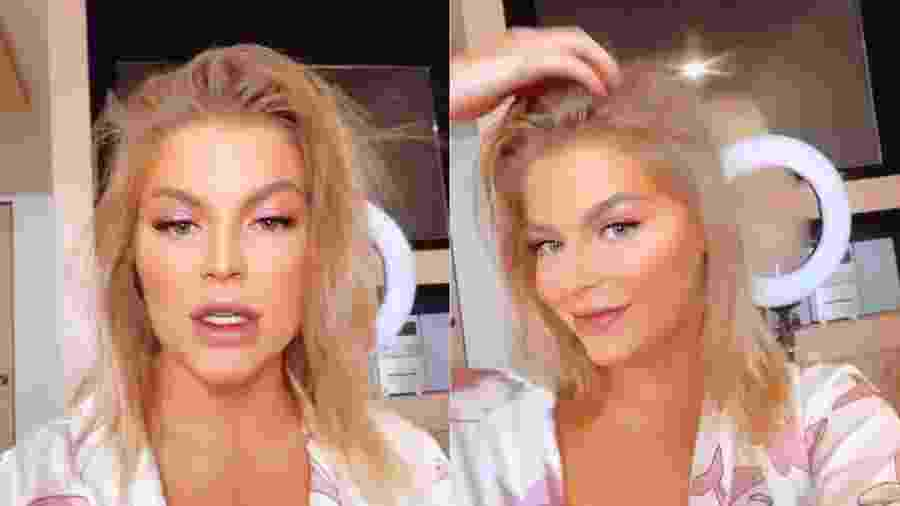 Luísa Sonza aparece de cabelos curtos no Instagram - Reprodução/Instagram