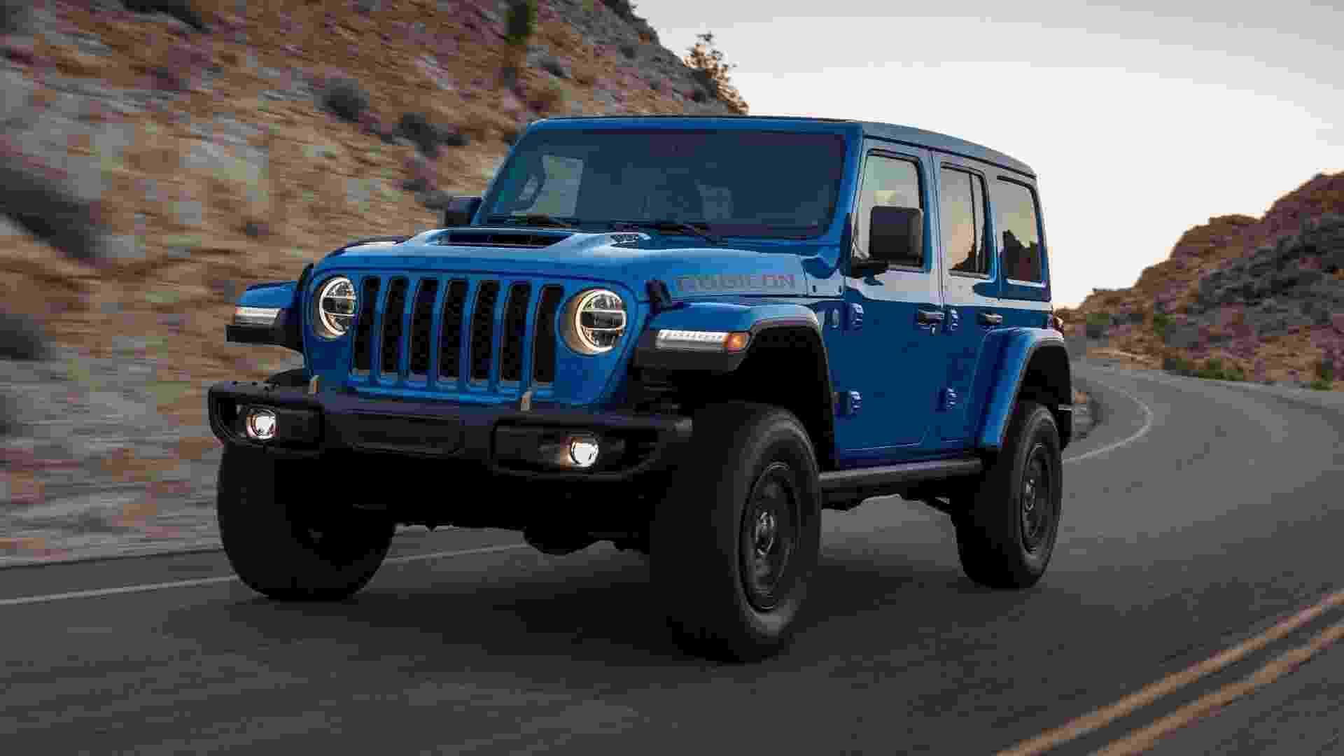 Jeep Wrangler Rubicon 392 - Divulgação/Jeep