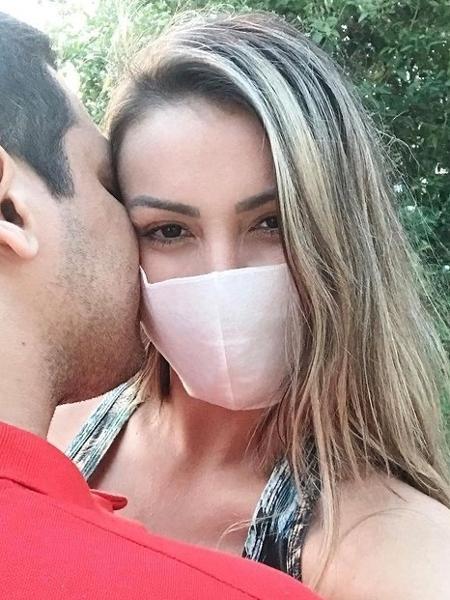 Andressa Urach e o namorado misterioso  - Reprodução/Instagram