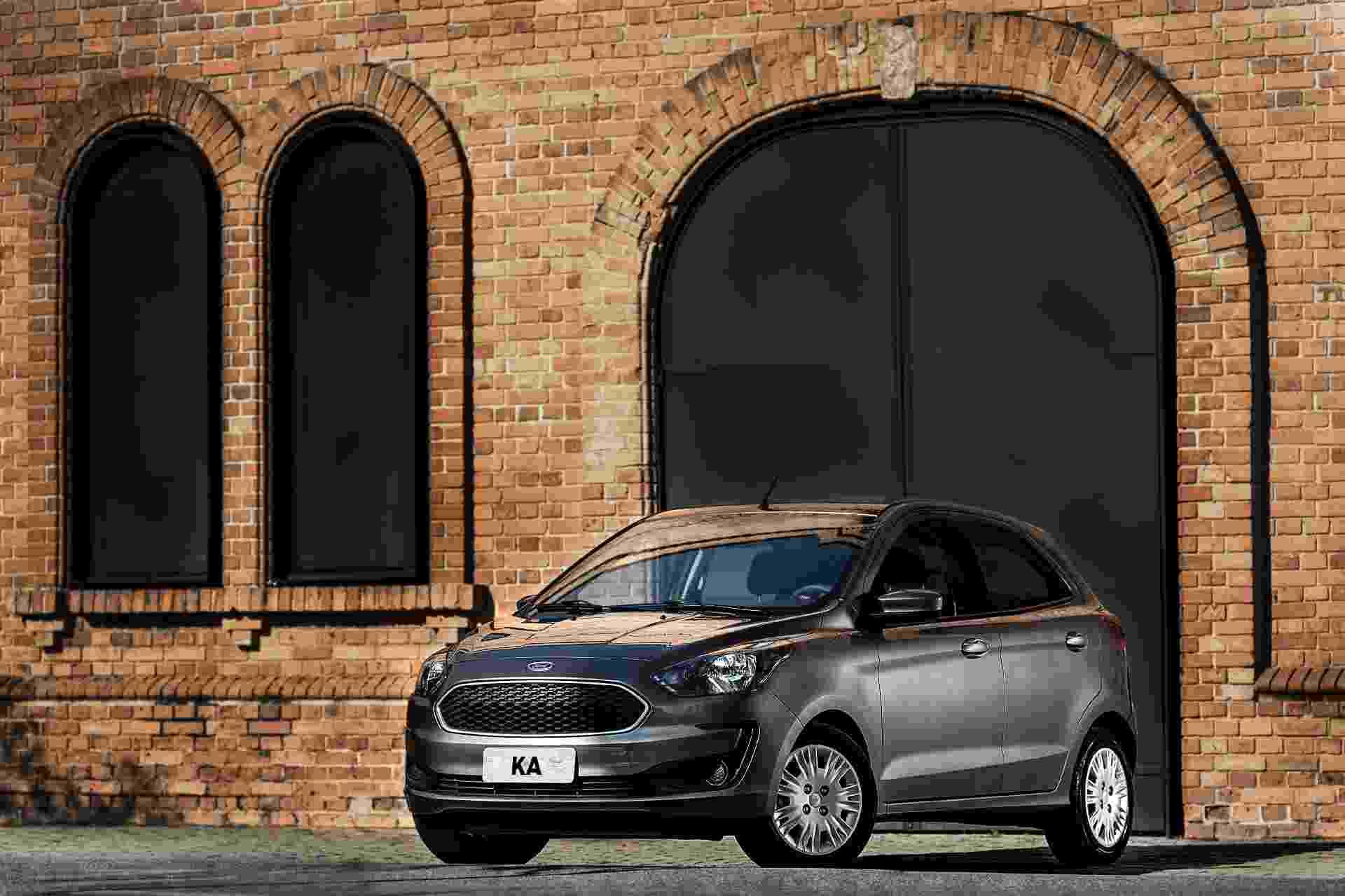 Ford Ka hatch - Divulgação