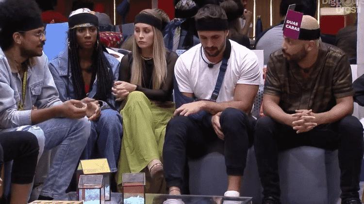 BBB 21: Projota e João batem boca - Reprodução/Globoplay - Reprodução/Globoplay