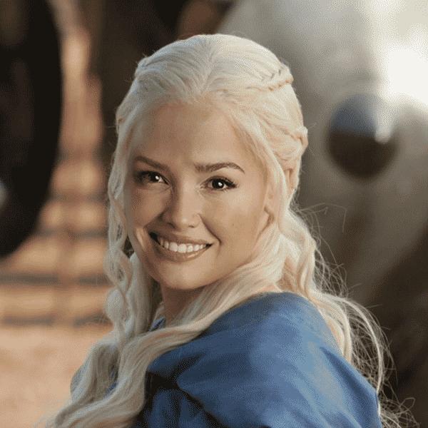 Juliette seria Daenerys - Carla Borges Pi/HBO/Globo/Reprodução