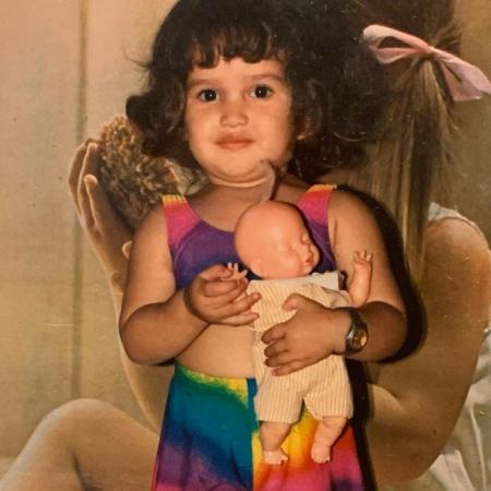 Juliette mostra foto da infância nas redes sociais - Reprodução/Instagram