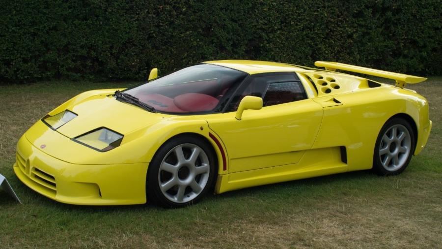 Bugatti EB 110 SS de Schumacher - Creative Commons