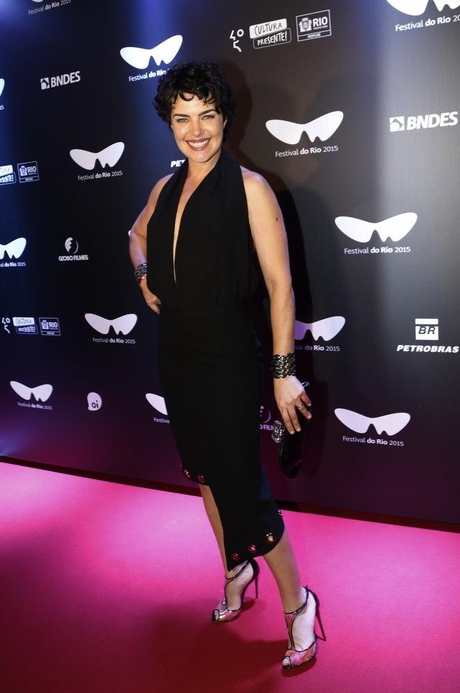 10.out.2015 - Ana Paula Arósio no lançamento do filme