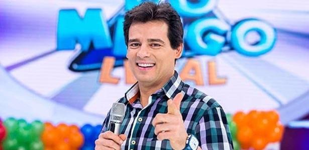 """""""Domingo Legal"""", do Celso Portilli, se transformou em mais um apelativo show de desgraças - SBT/Divulgação"""