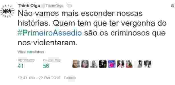 #primeiroAssedio; think Olga; masterchef brasil junior - BBC - BBC