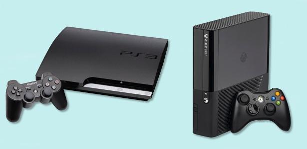 Os veteranos PlayStation 3 Xbox 360 deixam espaço para a nova geração em 2016 - Montagem/UOL