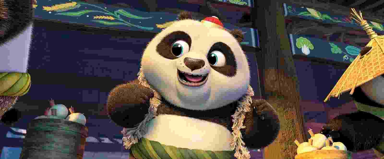 """Cena do filme """"Kung Fu Panda 3"""" - Divulgação"""