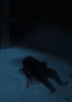 """Corpo de Jon Snow (Kit Harington) aparece no trailer da sexta temporada de """"Game of Thrones"""" - Reprodução/HBO"""