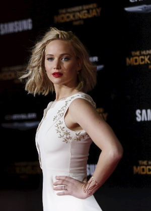 Jennifer Lawrence foi uma das famosas que teve as fotos roubadas pelo hackear - Reuters
