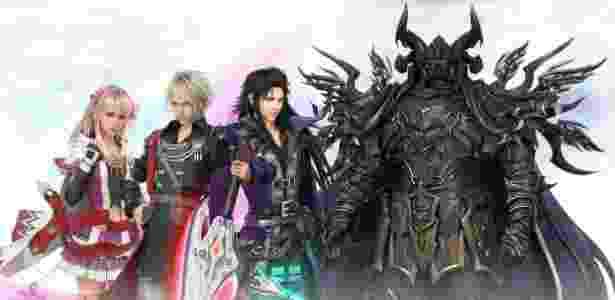 """Games como """"Final Fantasy Brave Exvius"""" lideraram melhor ano da Square Enix - Divulgação/Square Enix"""