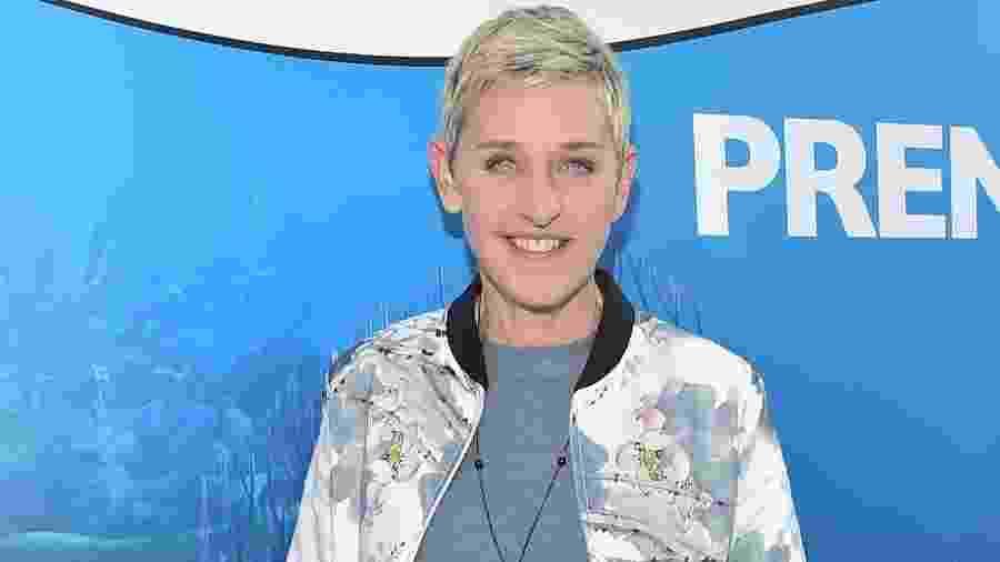 A apresentadora e humorista Ellen Degeneres - Getty Images