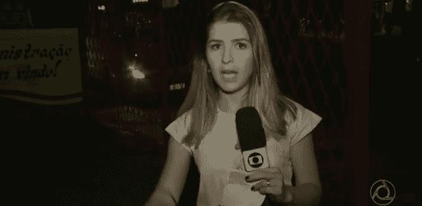 Jornalista da Globo é assaltada durante reportagem sobre falta de segurança - Reprodução/TV Paraíba/TV Globo