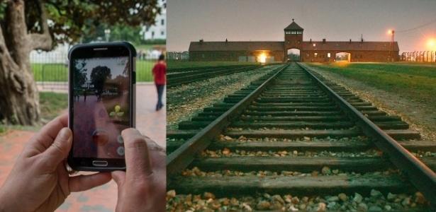 Mania do jogo chegou até ao museu localizado em antigo campo de extermínio nazista - Jim Watson/AFP/Getty Images