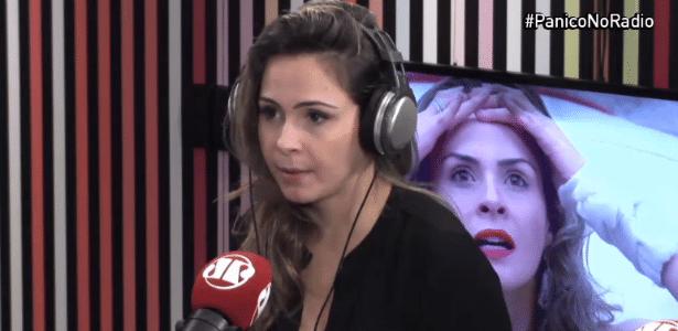 """Ex-BBB Ana Paula diz que """"ser rica e patricinha"""" não é xingamento nem demérito - Reprodução/JovemPan.com.br"""