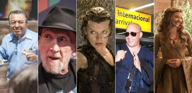 Mauricio de Sousa, Frank Miller, Milla Jovovich, Vin Diesel e Natalie Dormer são algumas das atrações da Comic-Con Experience deste ano - Divulgação