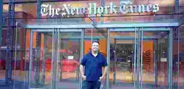 William planeja a nona viagem para Nova York em 2017 - Arquivo Pessoal