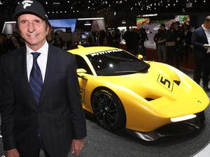 Emerson Fittipaldi apresenta EF7 no Salão de Genebra 2017 - Divulgação/Newspress - Divulgação/Newspress