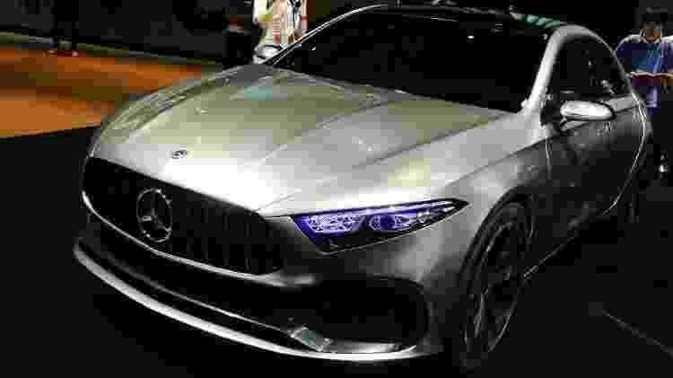 Mercedes-Benz Classe A Sedan Concept - Newspress - Newspress